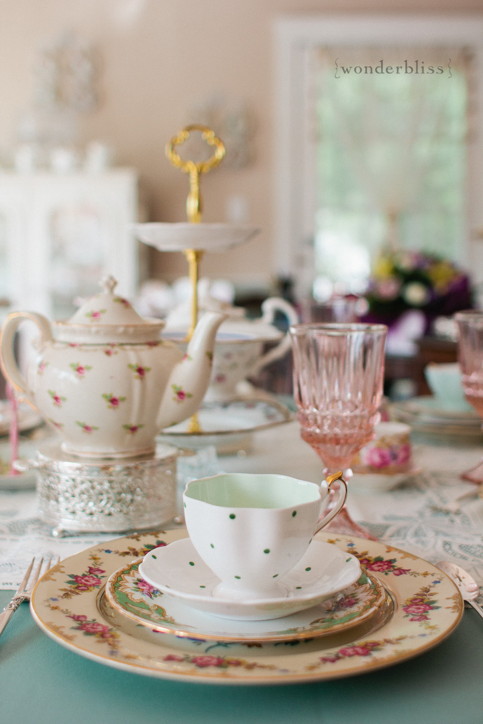 Wedding Wonders: Vintage plate and tea party rentals by ...