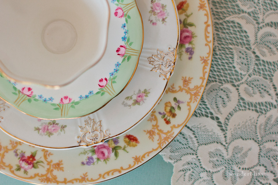 Hello ... & Wedding Wonders: Vintage plate and tea party rentals by Fancy That ...