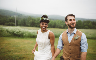 Writer's Retreat Wedding // Vermont