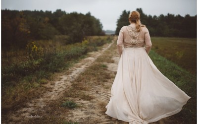 Cranberry Bog Wedding // New England