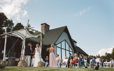 Green Mountains – A Vermont Backyard Wedding