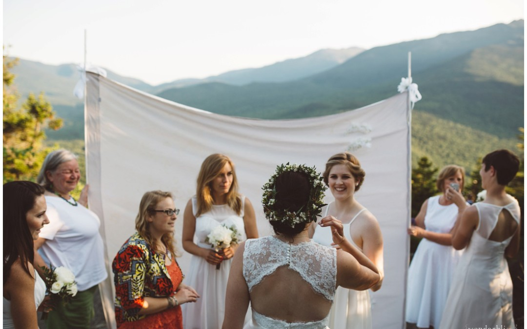 White Mountain Wedding // A hiker's elopement in New Hampshire