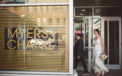 Myers + Chang // a Boston restaurant wedding